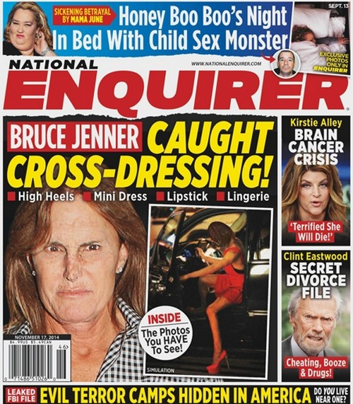 Bruce Jenner Caught Cross-Dressing Wearing Lipstick And Heels: Sex Change News and Rumors (PHOTO)