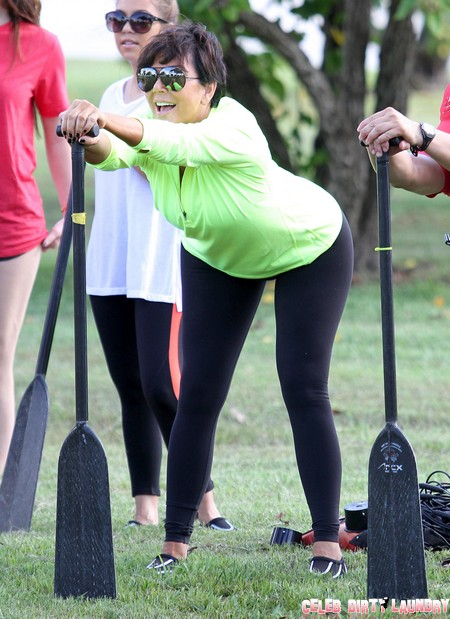 """Kris Jenner Laughs as Bruce Jenner Threatens to Cancel """"Keeping Up With the Kardashians"""""""