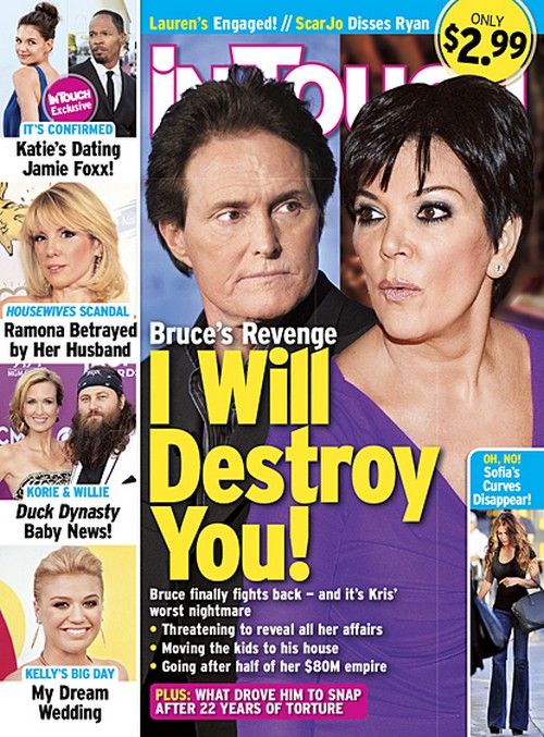 Bruce Jenner Declares Divorce War on Kris: Demands Full Custody of Kylie and Kendall or He Spills The Kardashian Secrets! (PHOTO)