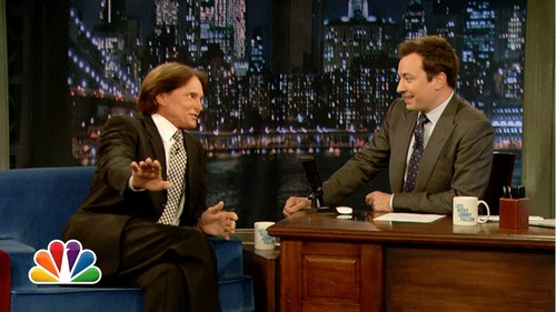 Bruce Jenner Threatens Jimmy Fallon With Kanye West's Anger and Botox (VIDEO)