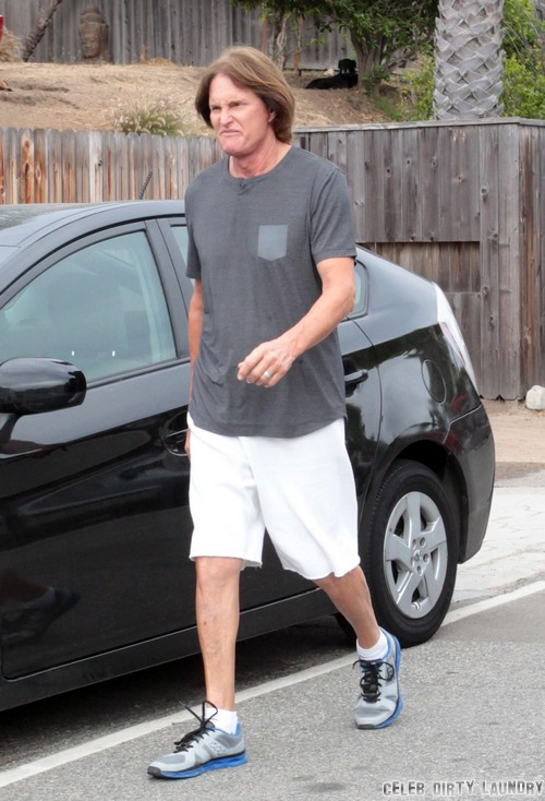 Bruce Jenner Forced To Walk Kim Kardashian Down the Aisle - It's In His Contract!