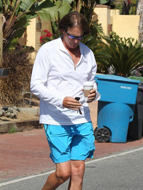 Bruce Jenner's Skin Cancer Nose Operation Stops Kris Jenner Filing For Divorce - For Now