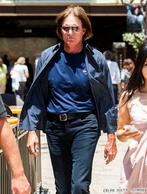 Bruce Jenner Threatens To Give Kanye West A Beating For Cheating On Kim Kardashian With Leyla Ghobadi