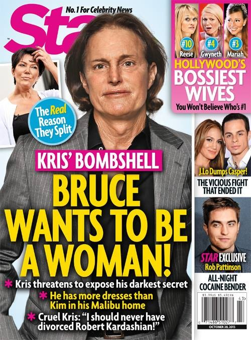 Kris Jenner Outs Bruce Jenner as a Cross Dressing Transvestite Who Wears Her Lingerie
