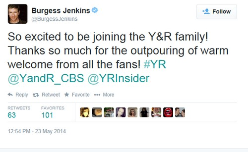 The Young and the Restless Spoilers: David Tom FIRED - Burgess Jenkins Cast as Billy Abbott - Confirmed!