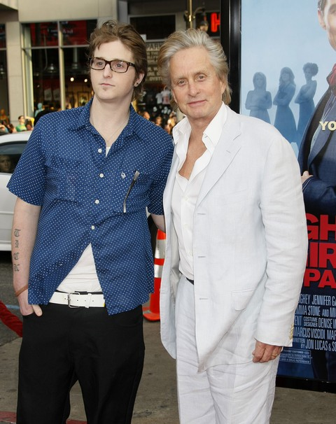 Michael Douglas And Ex-Wife Diandra De Morrell Whine Their Son, Cameron, Is Receiving Barbaric Treatment in Prison
