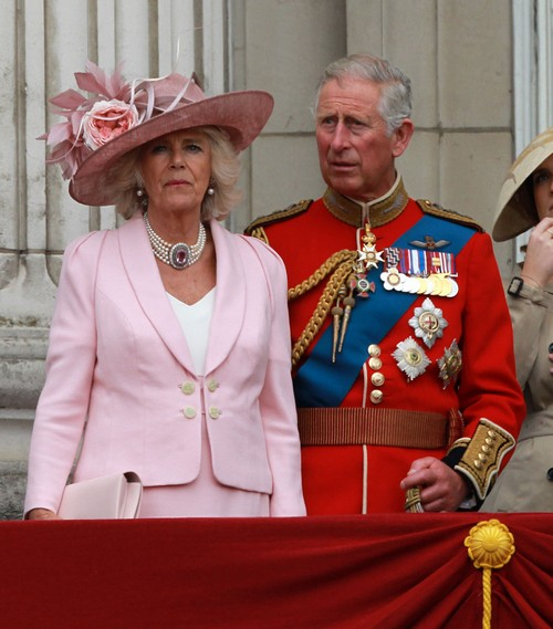 Kate middleton camilla parker bowles queen elizabeth prince charles