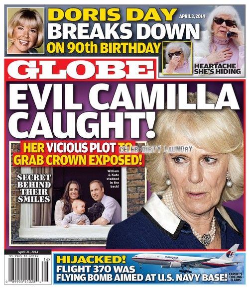 GLOBE: Camilla Parker-Bowles Evil Plot to Ruin Kate Middleton and Prince William While Stealing The Crown (PHOTO)