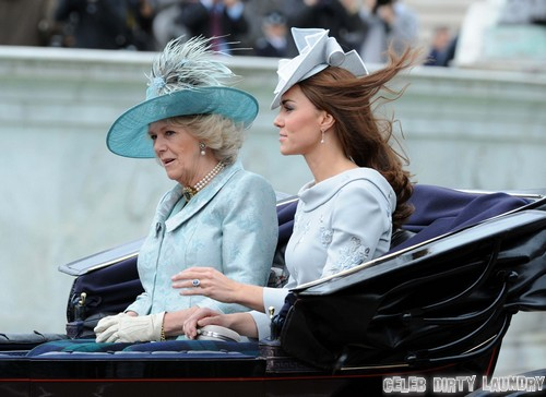 Kate middleton and camilla parker bowles at war as mother carole