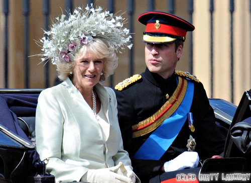 Kate Middleton and Prince William Snub Camilla Parker-Bowles - Furious She Won't Be Godmother to Prince George Alexander Louis!