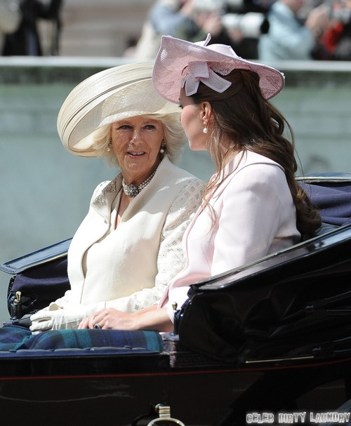 Kate Middleton Furious As Camilla Parker-Bowles Leaks Labor and Birth Details!