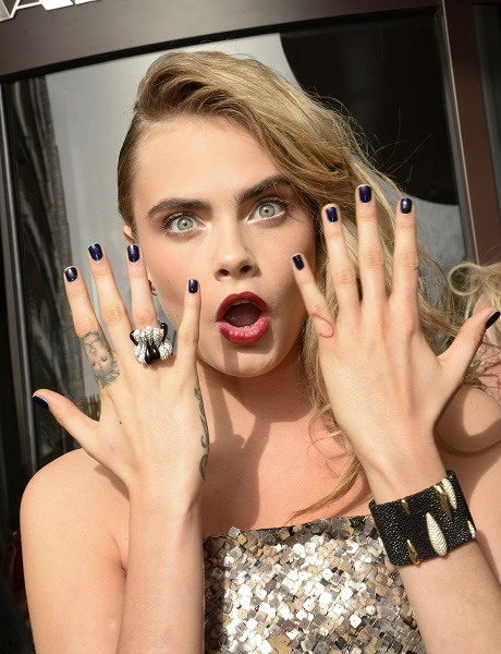 Cara Delevingne Says Nipples Should Be Allowed To Roam Free In The World - Hates The Instagram Nipple Ban!
