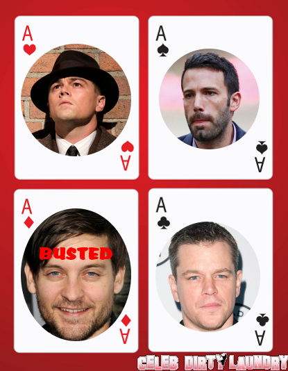 DiCaprio, Damon, Maguire, Affleck And Their Gamblin' Days!