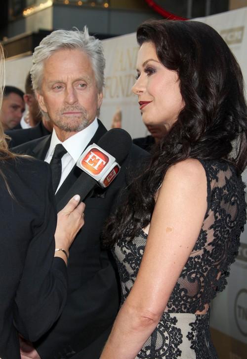 Catherine Zeta-Jones and Michael Douglas Getting a Divorce - Catherine Selling Off Property?
