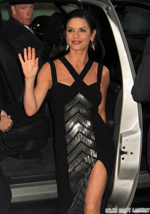 """Catherine Zeta-Jones Wants To Divorce Michael Douglas After Separation: Catherine Wants a Real Man She Can Love"""""""