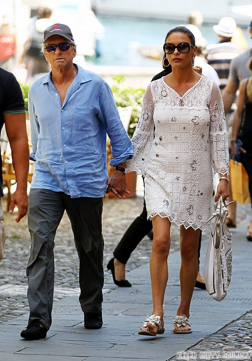 Catherine Zeta-Jones and Michael Douglas Spotted Together Holding Hands: Separation and Divorce Plans Over