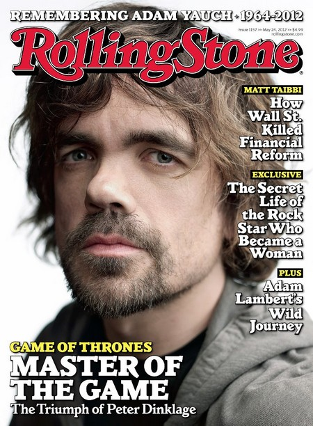 Game Of Thrones Peter Dinklage Covers Rolling Stone