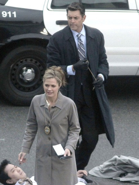 Timothy Omundson, Maggie Lawson Celebrate The 100th Episode Of Psych - CDL Exclusive 0320