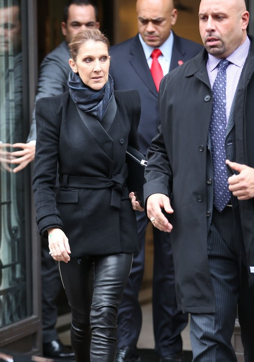 Celine Dion and Rene Angelil Separate: Celine Grieving For Failed Marriage as Divorce Nears and Wedding Ring Off (PHOTOS)