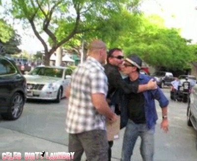 Charlie Sheen Explodes And Attacks Innocent Staples Center Security Guard