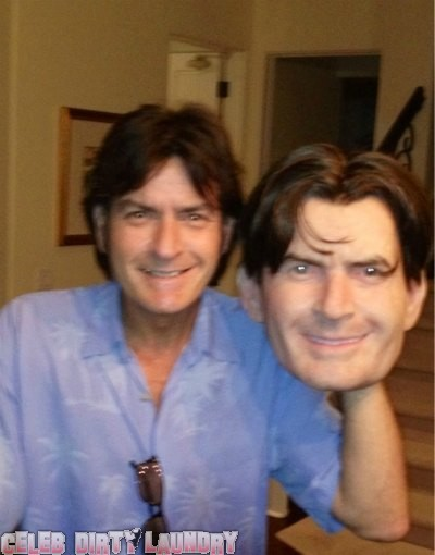 Charlie Sheen Is Going As Himself For Halloween (Photo)