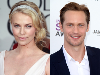 Are Charlize Theron And Alexander Skarsgard Hooking Up? | Celeb Dirty