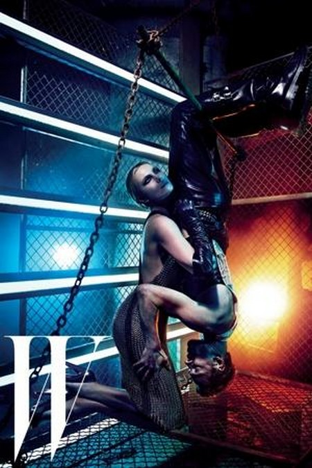 Charlize Theron And Michael Fassbender Go Fifty Shades Of Bondage (Photo)