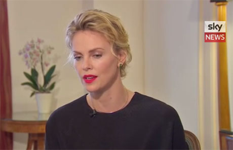 Charlize Theron Claims The Media's Exploitation Of Celebrities' Private Affairs Is Like Being 'Raped' (VIDEO)