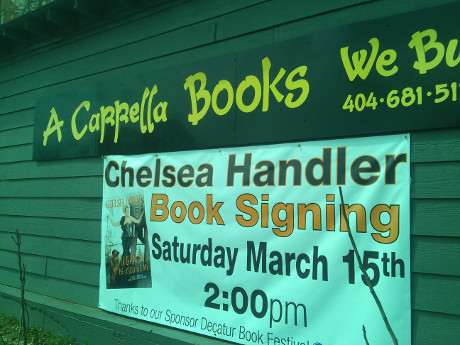 Chelsea Handler Shocks Audience With Disgusting Travel Story At 'Uganda Be Kidding Me' Book Signing In Atlanta!