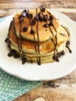 DELICIOUS CHOCOLATE CHIP PANCAKES