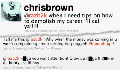Chris Brown & Raz B's Homphobic Twitter Feud