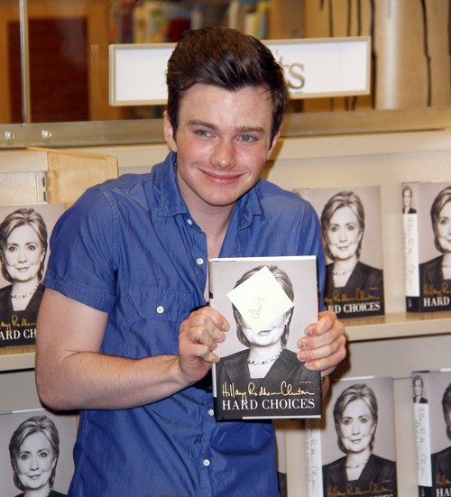 Chris Colfer NOT Leaving Glee – Twitter Hacked or Desperate Publicity Stunt?
