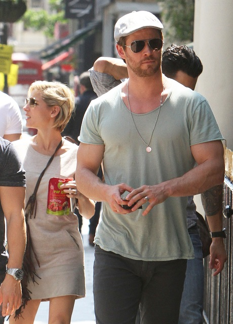 Chris Hemsworth And Elsa Pataky Fight Over Elsa Posing For Playboy Magazine: He Says It's No Place For A Mother!