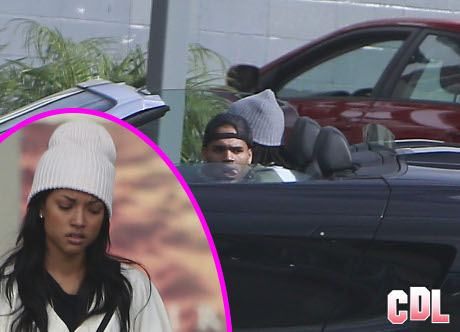 Chris Brown Caught With Ex-Girlfriend Karrueche Tran -- Two Days After Hooking Up With Rihanna!