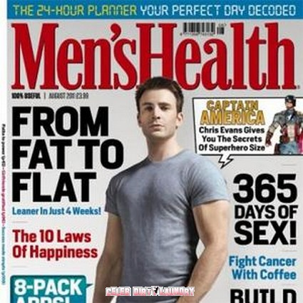 Chris Evans' Pec Injury Shows He Is No 'Captain America'