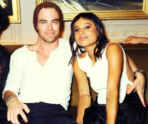 Zoe Kravitz And Chris Pine Hook Up While Dating During London Fashion Week