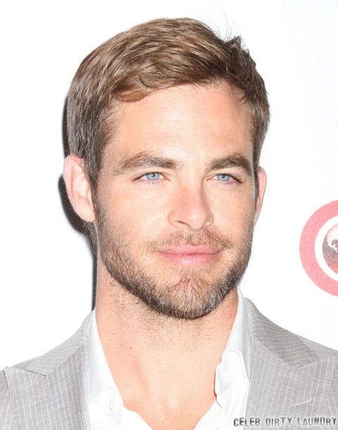 Chris Pine and Dominique Piek Split - Break Up For Star Trek Into Darkness!