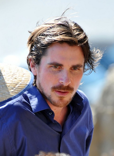 "Christian Bale and Isabel Lucas Film ""Knight of Cups"""