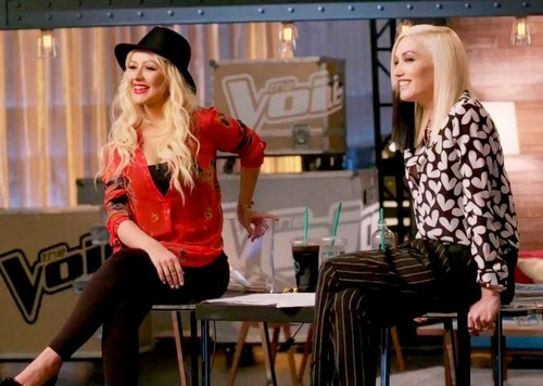Gwen Stefani and Blake Shelton Leaving The Voice After Season 12 To Make Room For Christina Aguilera And Miley Cyrus?