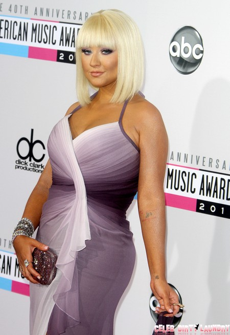 Christina Aguilera Received Plastic Surgery Butt Implants Before The American Music Awards