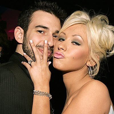 Christina Aguilera And Jordan Bratman SPLIT!