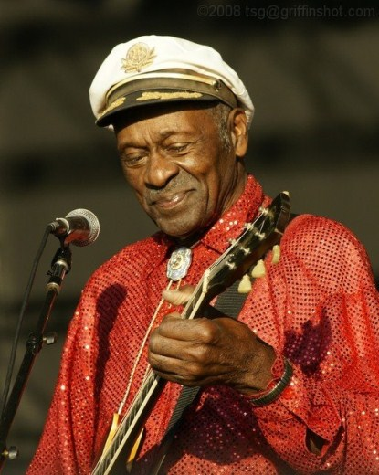 Chuck Berry Takes Ill During Chicago Concert