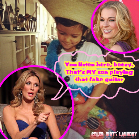 LeAnn Rimes Delivers Low-Blow to 'Real Housewives of Beverly Hills' Star Brandi Glanville in Bitchy Tweet