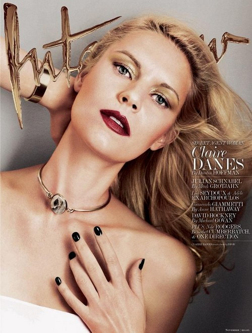 Claire Danes On The Cover Of Interview Magazine: Discusses Homeland Topless (PHOTO)