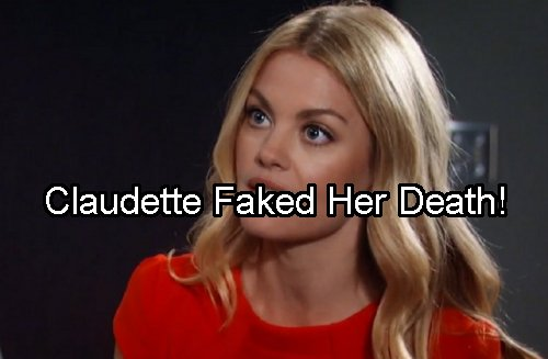 General Hospital Spoilers: Claudette Returns To Port Charles For Shocking Reveal - Faked Death to Escape Valentin
