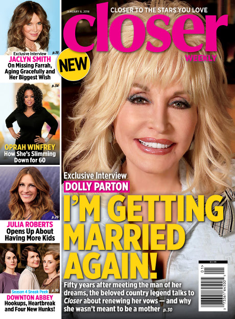 Julia Roberts Talks about having more Children, Dolly Parton Explains why Motherhood WASN'T for Her! (PHOTO)