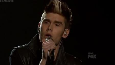 Colton Dixon American Idol 2012 'Bad Romance' Video 4/18/12