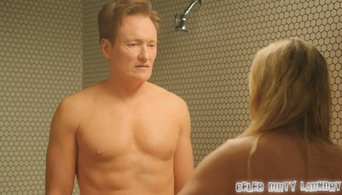 See Chelsea Handler and Conan O'Brien Undressed In Hot Nude Shower Scene (VIDEO)