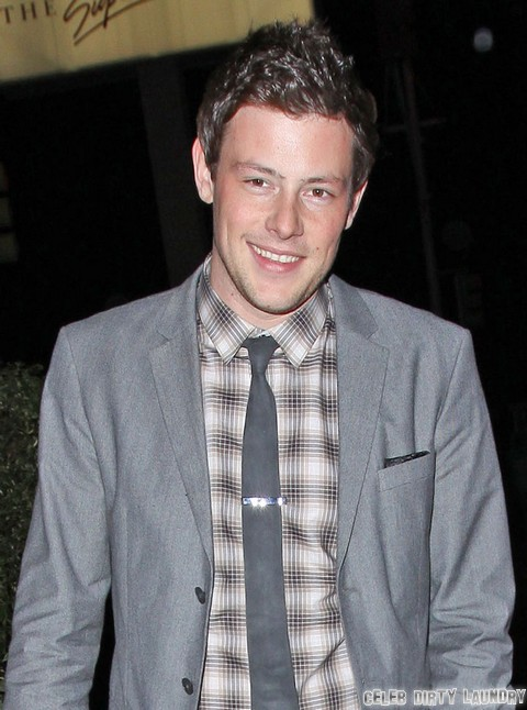 Glee's Cory Monteith Returns From Drug Detox, Not Rehab – Lying To Save His Job?