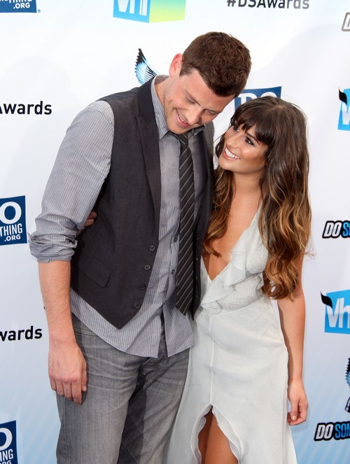 Cory Monteith Memorial on Glee - Lea Michele Loved Him